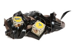 Phylactères - Tefillin Photo stock
