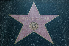 Phyllis Diller Hollywood Star Royalty Free Stock Image