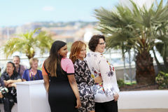 Phyllis Smith, Amy Poehler and Mindy Kaling Royalty Free Stock Image