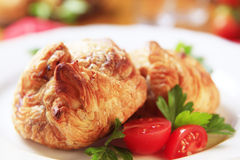 Phyllo pastries Royalty Free Stock Images