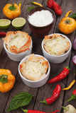 Phyllo pastry cups Royalty Free Stock Images