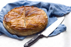 Phyllo pie Royalty Free Stock Photo