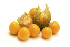 Physalis. On a white background stock photo
