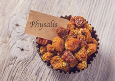 Physalis berries Stock Photos