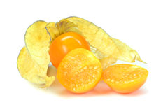 Physalis fruit Stock Photos