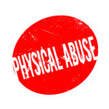 Physical Abuse rubber stamp Stock Photo