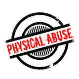 Physical Abuse rubber stamp Stock Photography