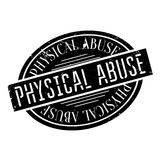 Physical Abuse rubber stamp Royalty Free Stock Image