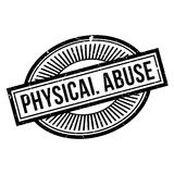 Physical Abuse rubber stamp Royalty Free Stock Photography