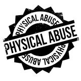 Physical Abuse rubber stamp Stock Images