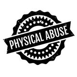 Physical Abuse rubber stamp Royalty Free Stock Images