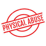 Physical Abuse rubber stamp Royalty Free Stock Photo