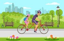Physical Education Child Instilling Good Habits. vector illustration