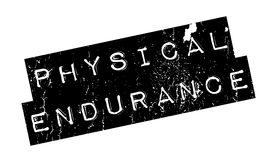 Physical Endurance rubber stamp. Grunge design with dust scratches. Effects can be easily removed for a clean, crisp look. Color is easily changed Royalty Free Stock Image
