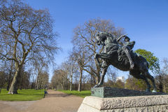 Physical Energy Statue in Kensington Gardens in London Stock Image