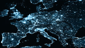 Physical Europe map illustration. map illustration. Elements of this image furnished by NASA Stock Photos