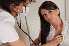 Physical examination Stock Images