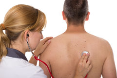 Physical examination Stock Photography