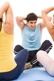Physical exercise Royalty Free Stock Photos