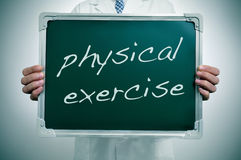 Physical exercise stock photography