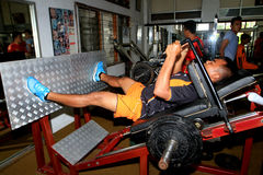 Physical exercises Stock Photos