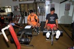 Physical exercises Royalty Free Stock Photo