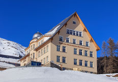 Physical-Meteorological Observatory in Davos, Switzerland Stock Photo