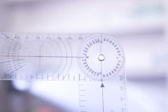 Physical therapy goniometer Stock Photography