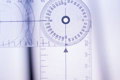 Physical therapy goniometer Royalty Free Stock Photos