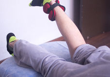 Physical therapy physiotherapy Royalty Free Stock Photos