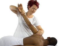 Physical Therapy Royalty Free Stock Photography