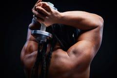 Physical training Stock Photo