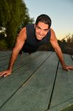 Physically Fit Man Stock Images