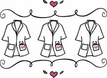 Physician Assistant Clothing Royalty Free Stock Photo