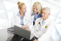 Physician Consultation Stock Image