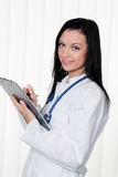 Physician diagnosis in the hospital and medical Royalty Free Stock Image