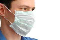 Physician in mask Royalty Free Stock Photography