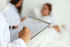 Physician ready to examine and help Stock Photo