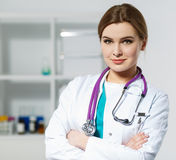 Physician reception concept Stock Photography