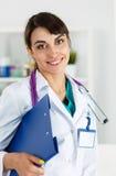 Physician reception concept Stock Photos