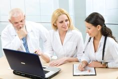 Physicians Royalty Free Stock Photography