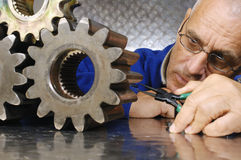 Physicist And Engineering Stock Image