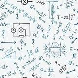 Physics background Stock Photo