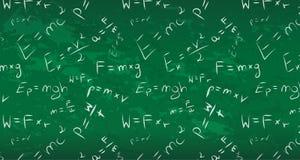 Physics blackboard bezszwowego tła sztandaru piękny wallpape ilustracji