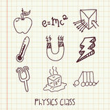 Physics class Royalty Free Stock Photos