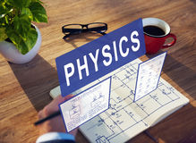 Physics Complex Experiment Formula Function Concept Royalty Free Stock Images
