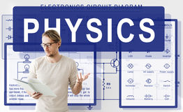 Physics Complex Experiment Formula Function Concept Stock Image