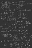Physics diagrams and formulas Royalty Free Stock Photography