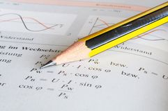 Physics education Stock Photography