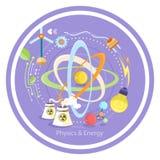 Physics energy Royalty Free Stock Photography